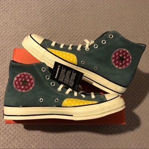 Converse Twisted Prep Suede Patchwork Chuck 70